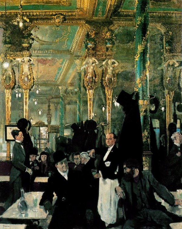 William Orpen -The Café Royal, London