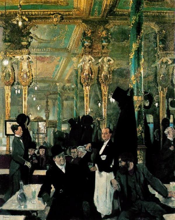 William Orpen -The Café Royal, London